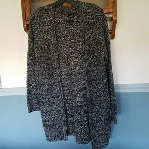 Charcoal Gray Cardigan
